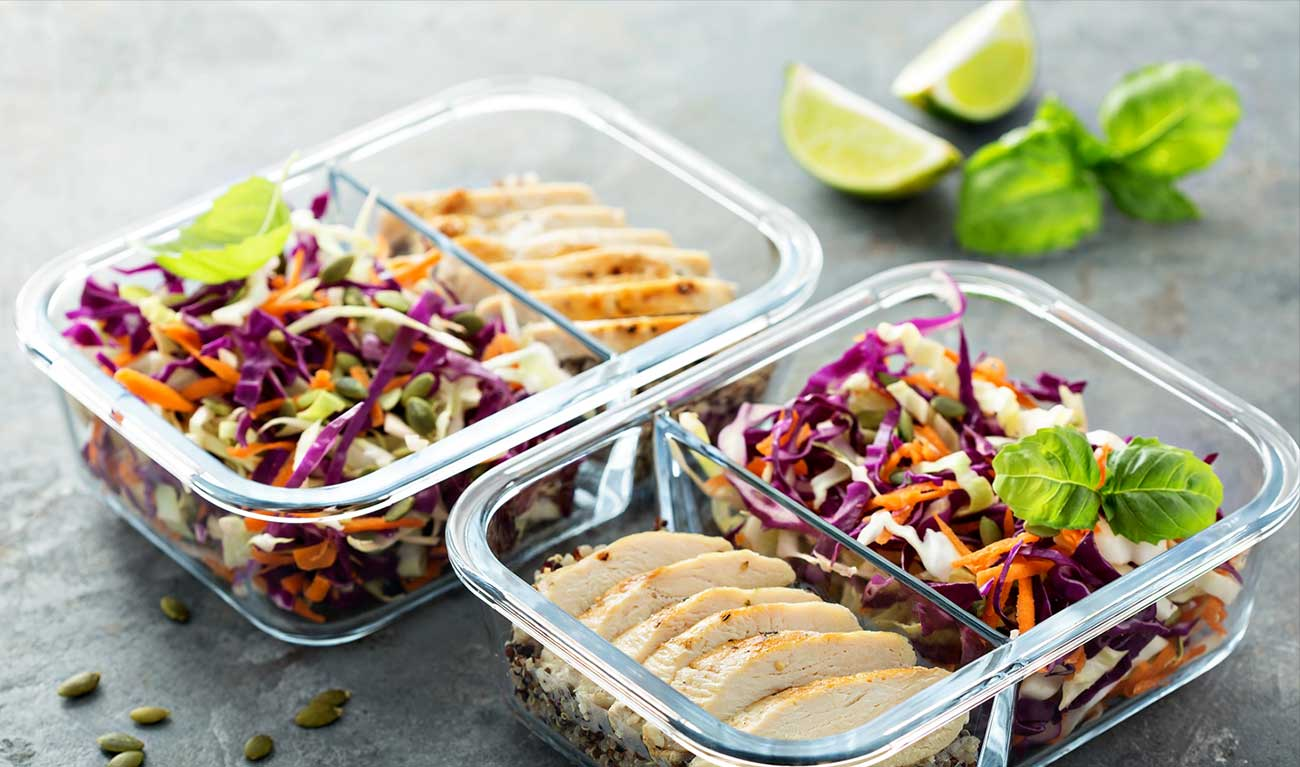 Healthy meal prep meals to go TruSelf