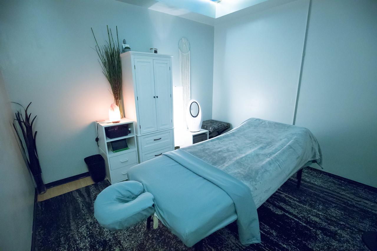 TruSelf Sporting Club Massage Therapy Room