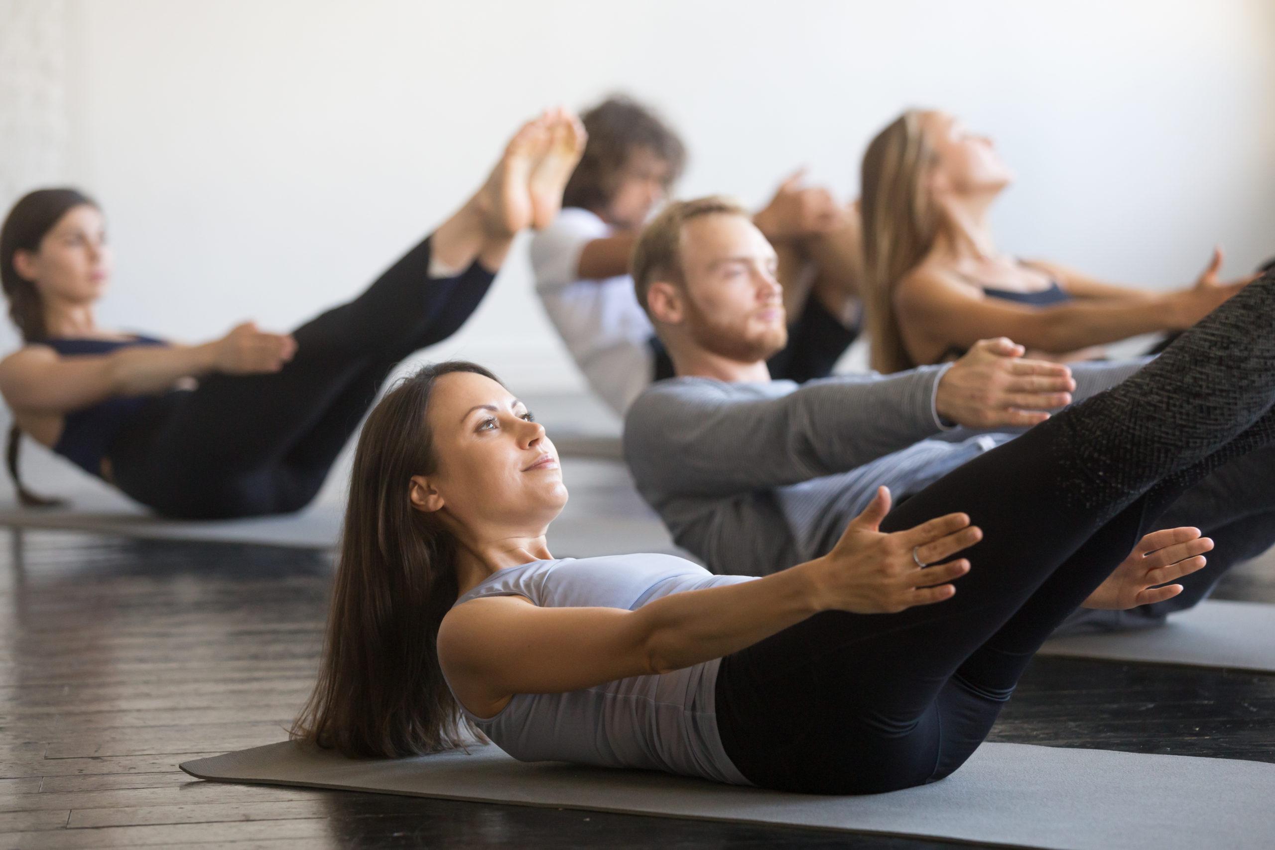 mat pilates class details truself sporting club image