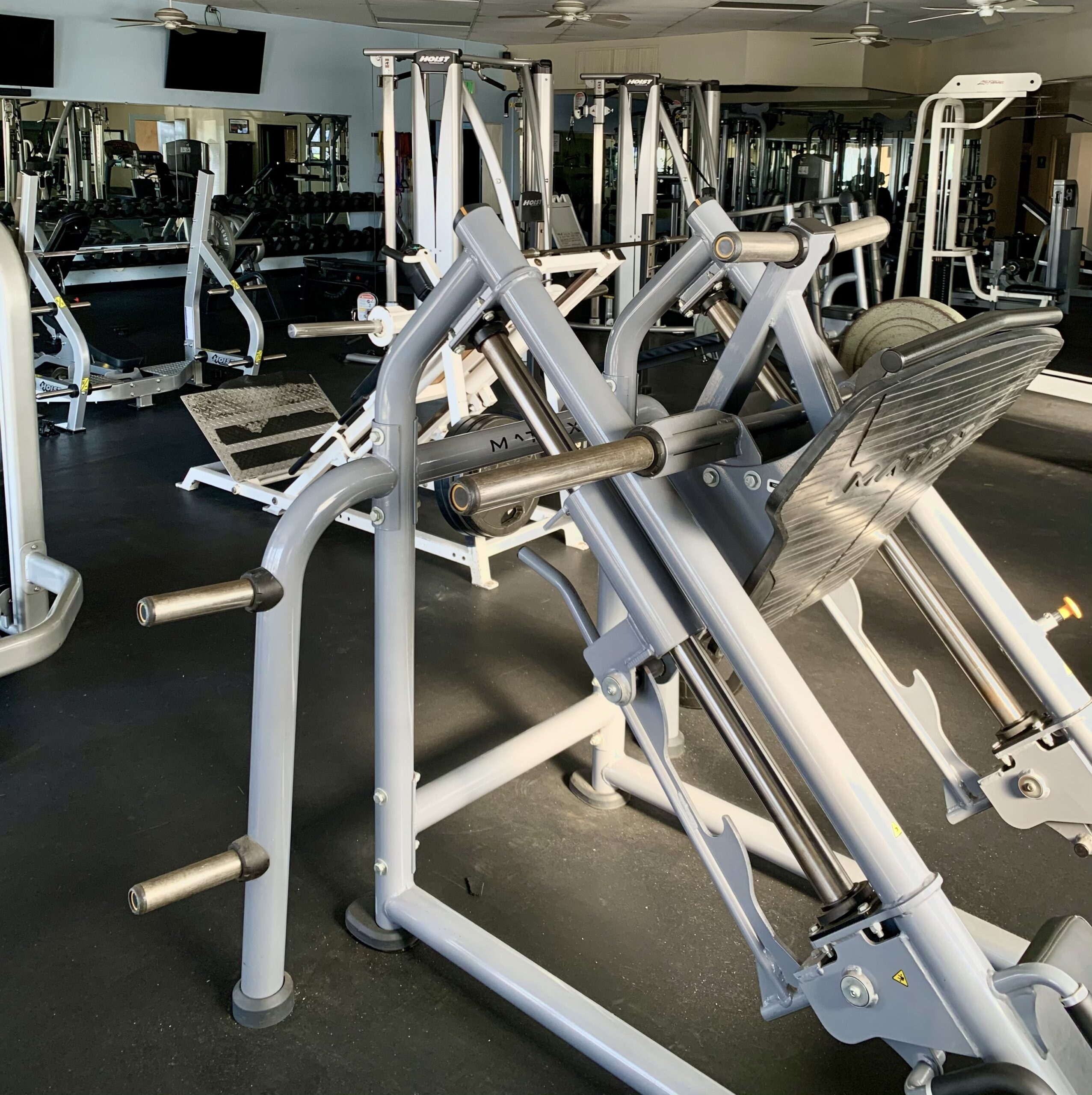 Open gym layout space TruSelf Sporting Club