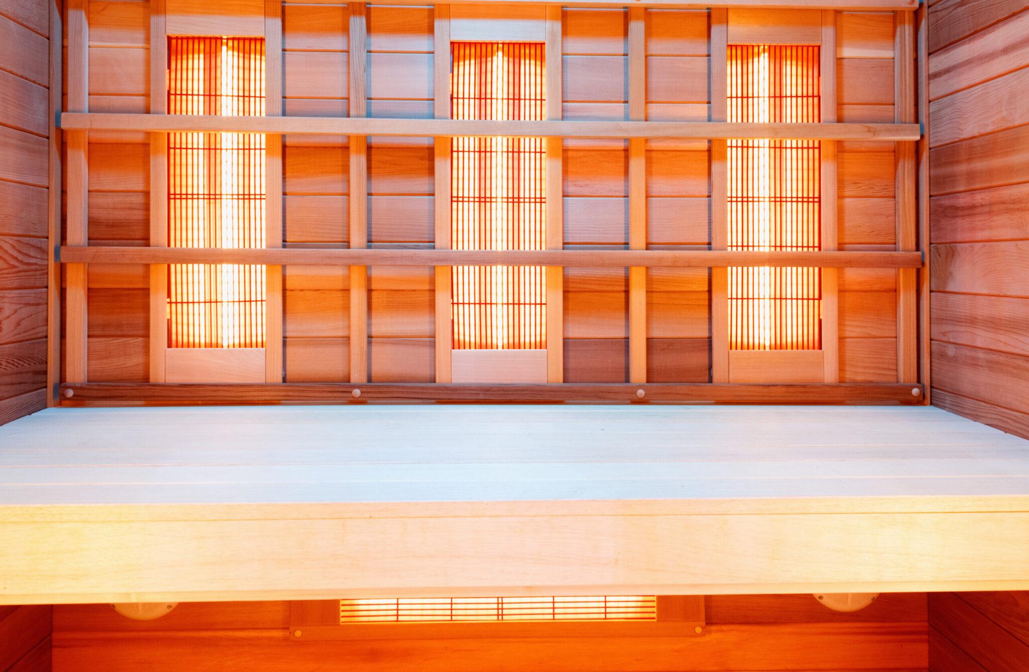 infrared sauna red light truself sporting club san diego gym