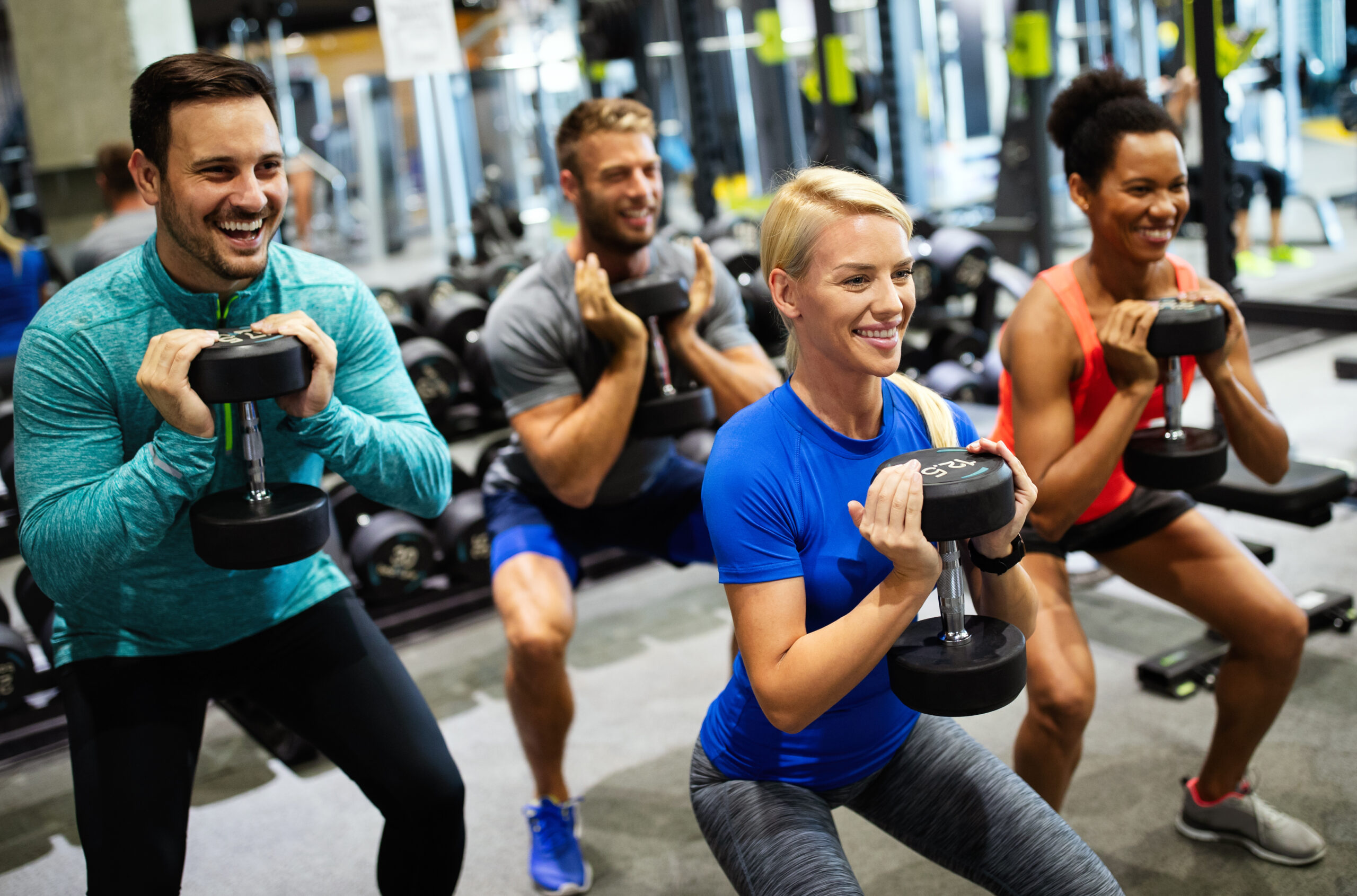 TruSelf Sporting Club Group Exercise Class image gym