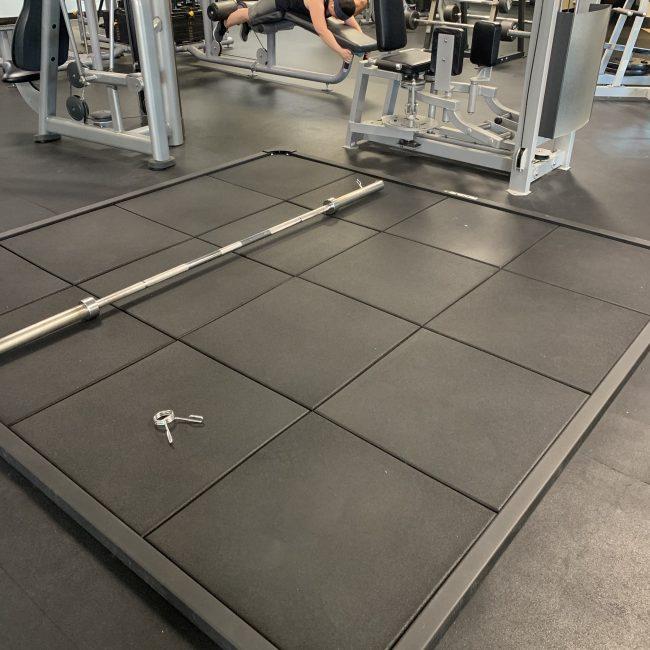 New Deadlift Platform